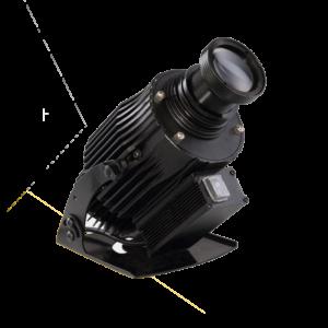 LED-projektor 40W 60W 80W vridbar
