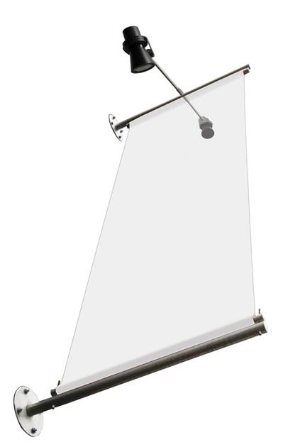 Elegant-Wall-banner-flagga-hängande
