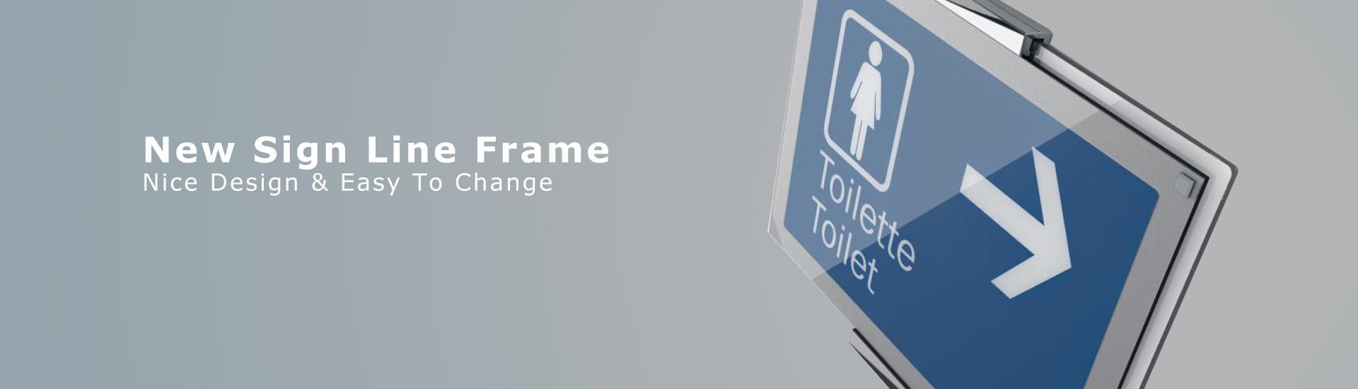 Sign-line-frame-ondemant